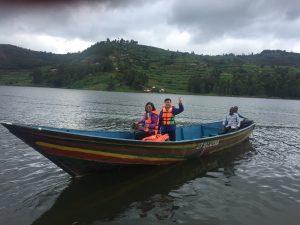 Lake Bunyonyi boat ride