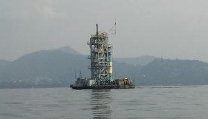 Lake Kivu gas plant
