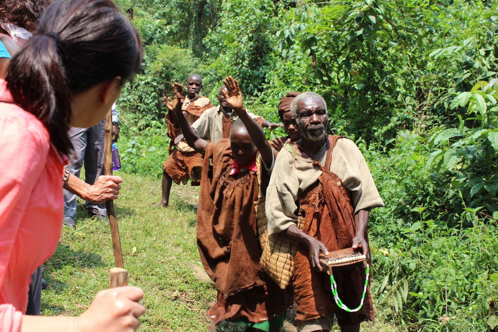 batwa trail in Mgahinga Gorilla national park