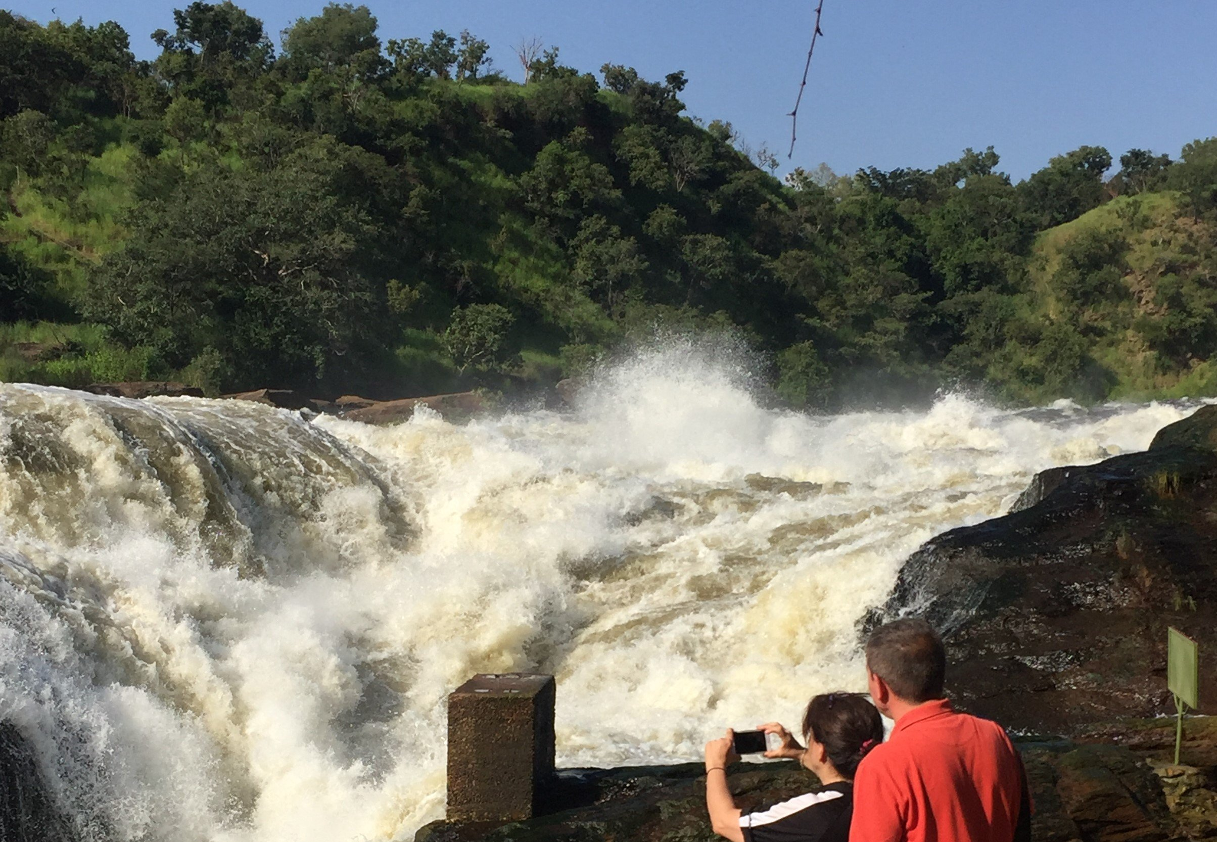 Hiking the Top Of Murchison Falls Uganda